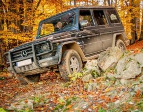 Mercedes Offroad Training - Aspach Mercedes G - 3 Stunden