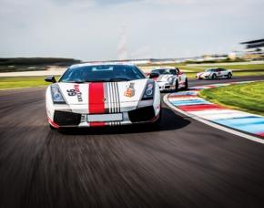 Renntaxi - Lamborghini Gallardo - 4 Runden (JS + MD) - Spreewaldring - Schönwald Lamborghini Gallardo - 4 Runden