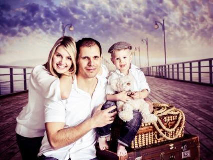 Familien-Fotoshooting Hamburg