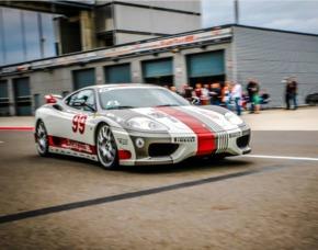 Renntaxi - Ferrari F360 - 4 Runden (JS + MD) - Spreewaldring - Schönwald Ferrari F360 - 4 Runden