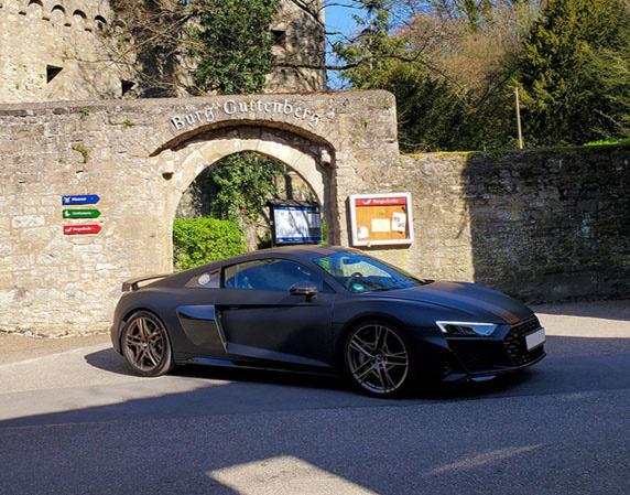 Fahrspaß Wochenende Audi R8 2 Tage ohne Instruktor - mit Übernachtung