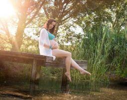 Babybauch-Fotoshooting 1 Bild digital, ca. 1 Stunde