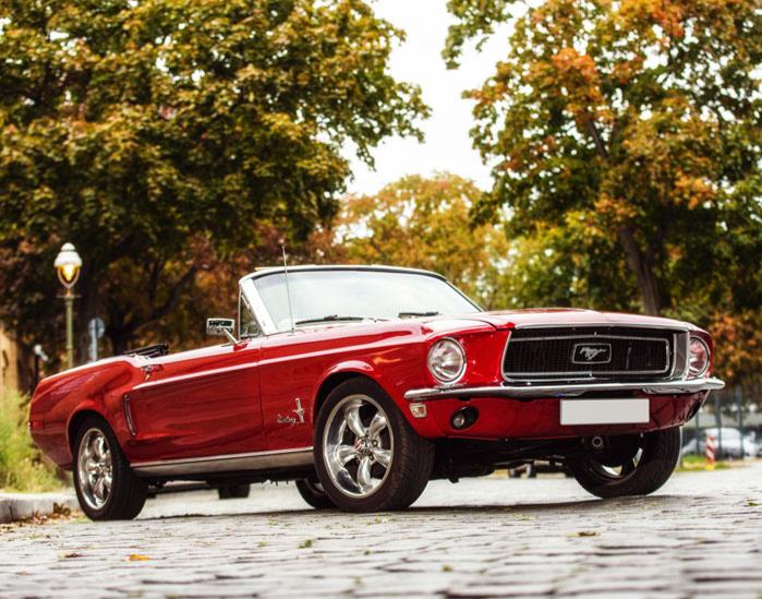 Mustang Oldtimer fahren - Wochenende - München/Puchheim Ford Mustang Oldtimer - Wochenende