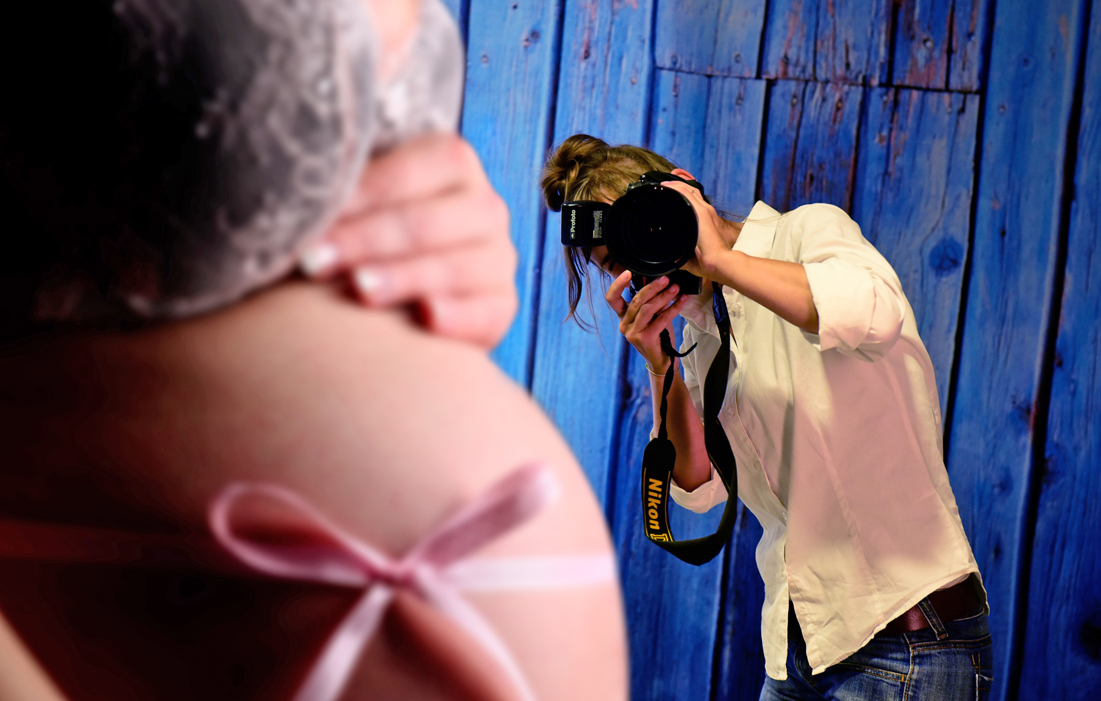 Babybauch-Fotoshooting Erfurt