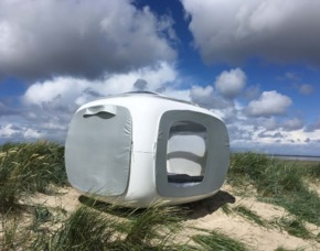 Außergewöhnlich Übernachten im sleeperoo Cube - 1 ÜN (Preis A - Fr/So) - Wangerland im sleeperoo Cube - inklusive Chillbox - Schillig Strand