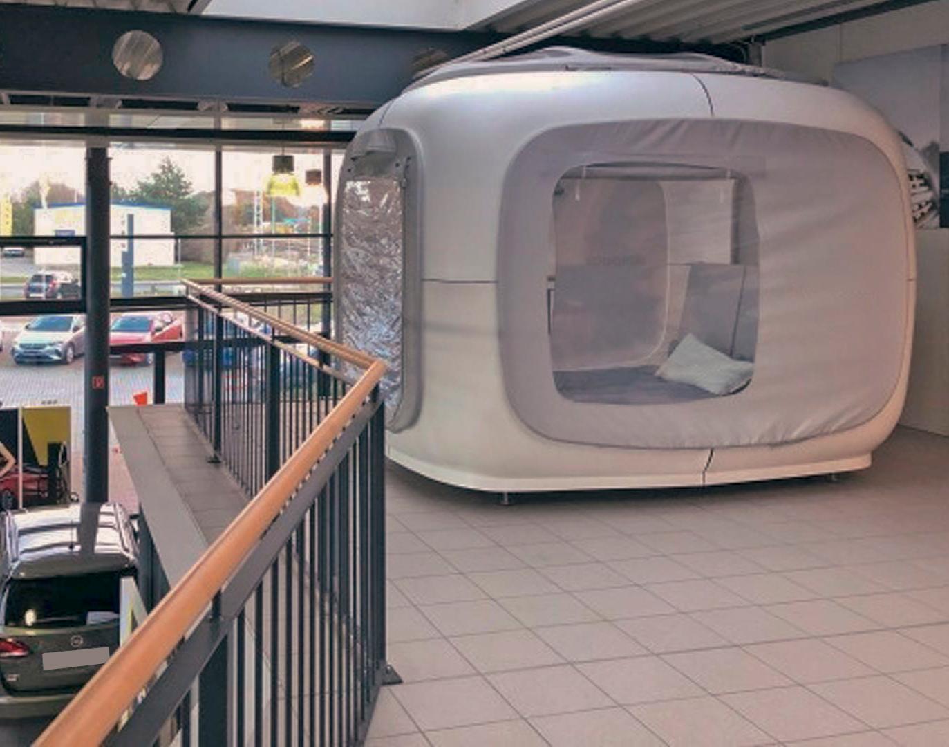Sleeperoo Cube 1 ÜN (Preis B Mo-Do) Brinkmann Osterloh - Autohaus im Sleeperoo Cube