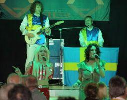 ABBA–Dinnershow - 3-Gänge-Menüffet - Voß am Chaussee - Unna Voß am Chaussee - 3-Gänge-Menüffet,  inkl. Begrüßungssekt