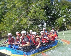 Isar-Rafting - Lenggries Auf der Isar von Lenggries nach Bad Tölz - ca. 3 Stunden