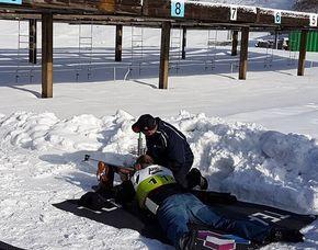 Biathlonschießen-Schützenkönig - Oberhof Biathlonschießen – 30 Minuten