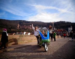 Rikscha-Tour Heidelberg
