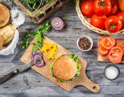 Burger Kurs Burger-Grillkurs, 3-Gänge-Menü, inkl. Getränke