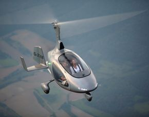 Tragschrauber selber fliegen - inklusive Rundflug - 30 Minuten inklusive Rundflug - 30 Minuten