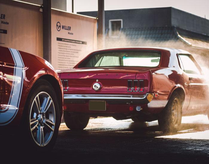 """Ford Mustang Oldtimer fahren (2Std.) Sylt Ford Mustang Baujahr 69 """"Boss"""" - 2 Stunden"""