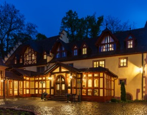 Kuschelwochenende im Schlosshotel 3 Tage / 2 ÜN Schlosshotel Weyberhöfe - 4-Gang Candle-Light-Dinner