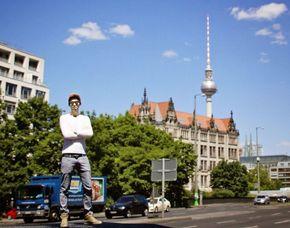 3D Figuren - Familienscan - Dresden mehrfarbig, ca. 7 cm groß