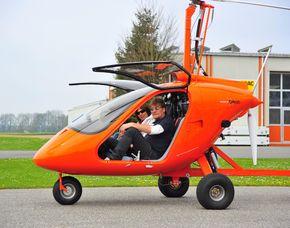Tragschrauber selber fliegen - 60 Minuten 60 Minuten