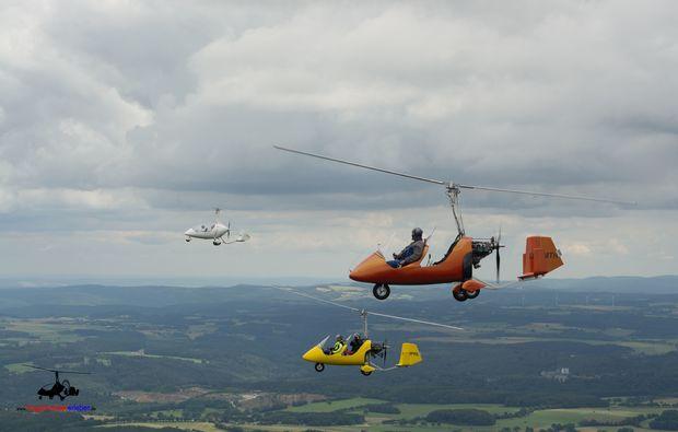 tragschrauber-rundflug-wuerselen-hubschrauber