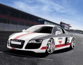Renntaxi - Audi R8 - 4 Runden (JS + MD) - Spreewaldring - Schönwald Audi R8 - 4 Runden