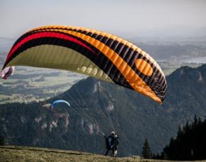 Gleitschirm-Tandemflug Wallberg - Rottach-Egern Wallberg