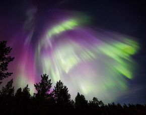 Northern Lights Above Saariselkä - 2 nights Glas-Iglu - Husky Safari - Rentier-Express