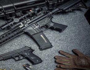 Schießtraining -  Kurzwaffen Schießtraining mit Pistolen - ca. 2 Stunden