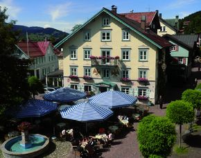 Kurzurlaub inkl. 120 Euro Leistungsgutschein - Hotel zum Adler - Oberstaufen Hotel zum Adler