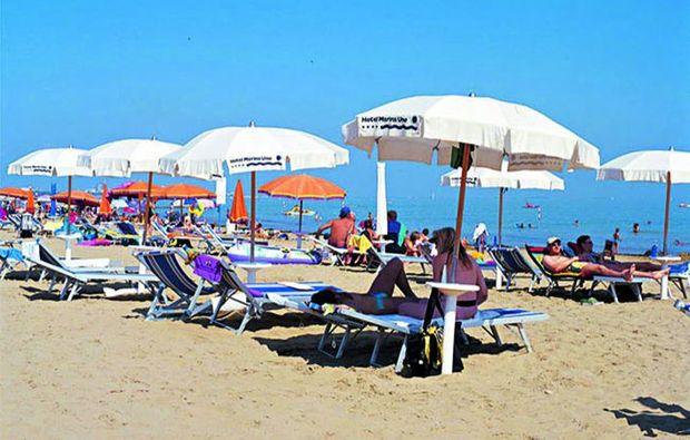 kuschelwochenende-lignano-sabbiadoro-strand