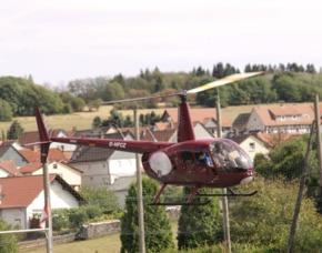 Hubschrauber selber fliegen - 30 Minuten Weiden in der Oberpfalz 30 Minuten