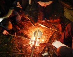 Wildnis-Survival Trip - 2,5 Tage - Lohbergen Notunterkunft Errichtung, Fallenbau, Abseilen