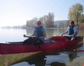 Romantische Kanutour für 2 - 3 Stunden - Moos Romantische Tour bei Sonnenuntergang – Bodensee