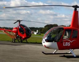 Hubschrauber-Rundflug - Würselen 20 Minuten