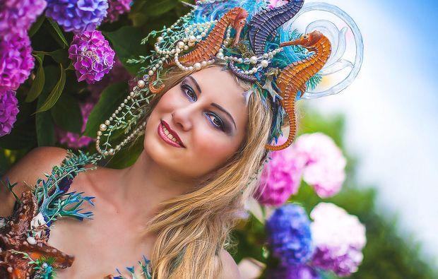 fashion-fotoshooting-waldbronn-reichenbach-meerjungfrau-bunt