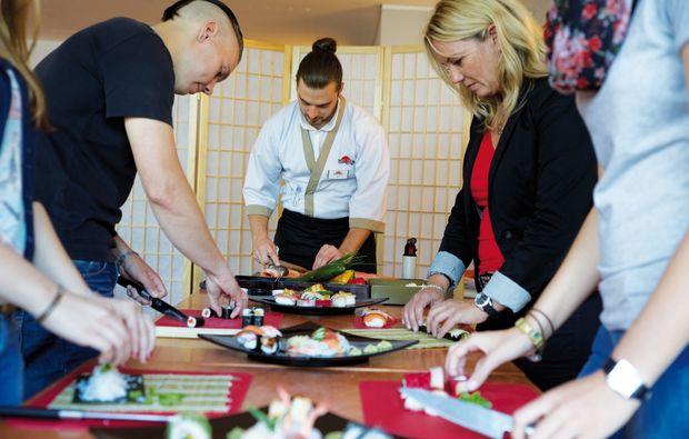 Sushi Kochkurs für Fortgeschrittene in Leipzig als