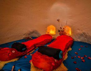 Romantik-Iglu für Zwei Mayrhofen in der 2er-Iglu-Suite - Abendessen
