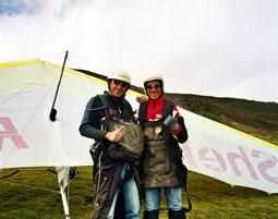 Drachen-Tandemflug Penken Mayrhofen 15-20 Minuten