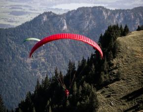 Gleitschirm-Tandemflug Brauneck Lenggries Brauneck - ca. 120 Minuten