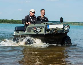 Amphibienfahrzeug fahren Amphibienfahrzeug - 60 Minuten