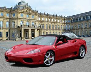 Ferrari fahren Hamburg