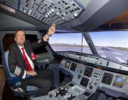 Flight Simulator - Typ A320 - Hamburg Airbus A320 - 30 Minuten
