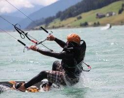 Kitesurfen-Grundkurs am Reschensee Reschensee - 2 Tage