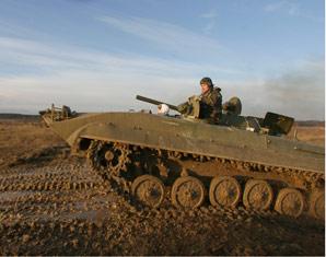 Panzertaxifahrt Mitfahrt im Schützenpanzer BMP-1 - 2 Stunden