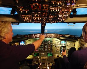 Flight-Simulator - B737- Mönchengladbach Boeing 737 - 5 Stunden