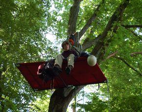 Übernachtung im Baum Michelau im Steigerwald im Baum - Abendimbiss