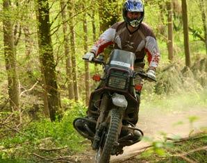 Bild Enduro & Motocross fahren - Spektakulär über Stock und Stein