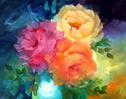 Bild Malkurse - Schenke mit Malkursen die Welt der Farben