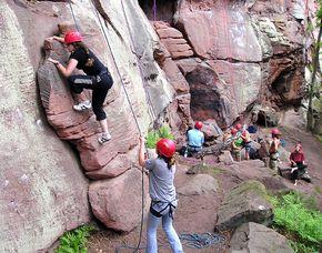 Outdoor-Action-Tag Klettern, Bogenschießen, GPS Orientierung - ca. 6 Stunden