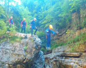 Canyoning-Tour Hallein
