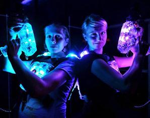 Bild Lasertag - Beim Lasertag sind Spaß und Spannung vorprogrammiert