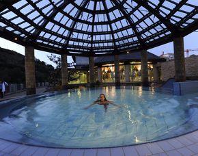 Entspannen und Träumen für Zwei Parkhotel Kurhaus - Eintritt Crucenia Therme