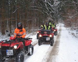 Quad-Winter-Tour Quad-Winter-Tour Hegau - 2 Stunden